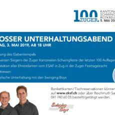 Freitag, 3. Mai: Grosser Unterhaltungsabend